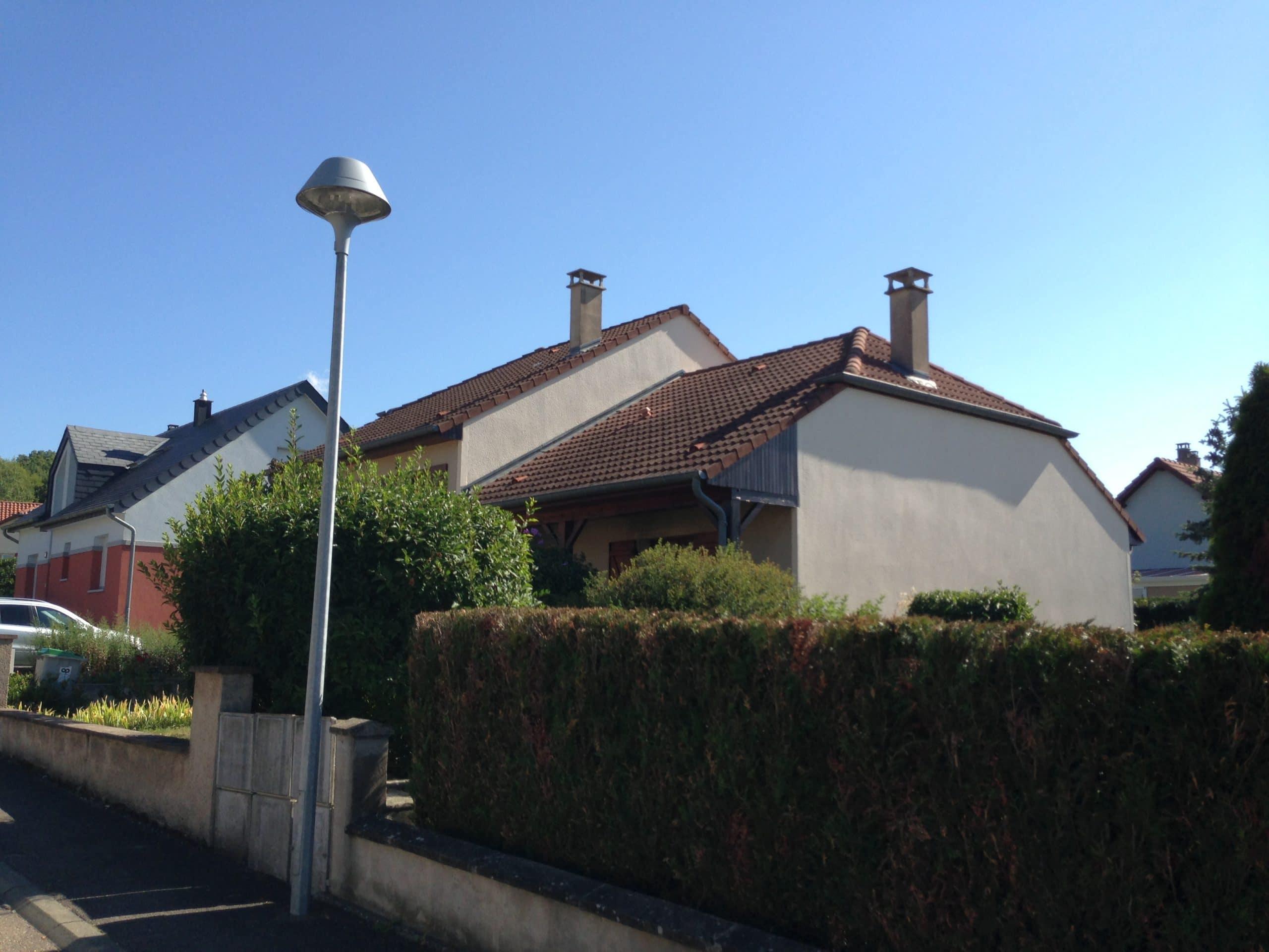 Ravalement de façades Hettange-Grande (57 – Moselle)