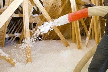 es projets d'isolation des comblespar soufflage de laine minérale