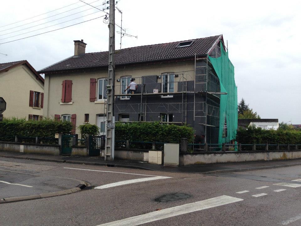 Isolation thermique par l'extérieur Dombasle-sur-Meurthe (54 – Meurthe-et-Moselle)