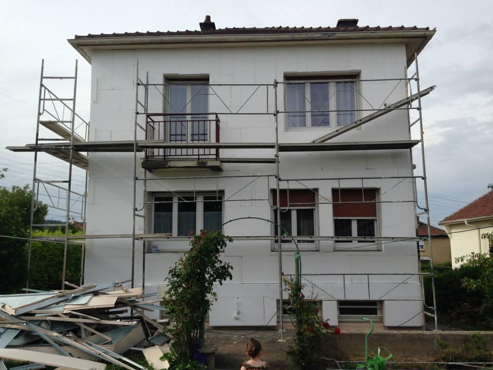 AMI Lorraine - Isolation thermique par l'extérieur en Moselle (Rombas)