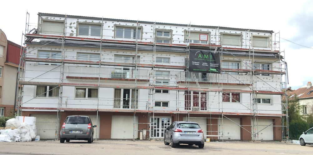 AMI Lorraine - Isolation extérieure Moulins-lès-Metz (57 Moselle)