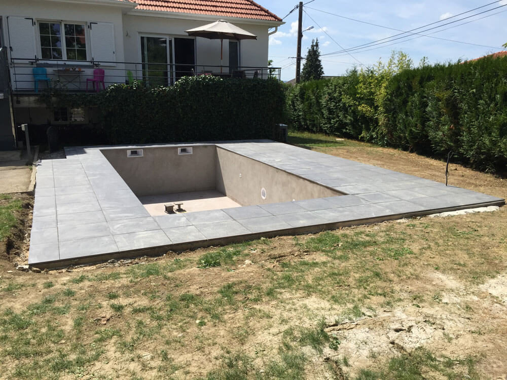 Ravalement et r novation de fa ade isolation ext rieure for Construction piscine beton