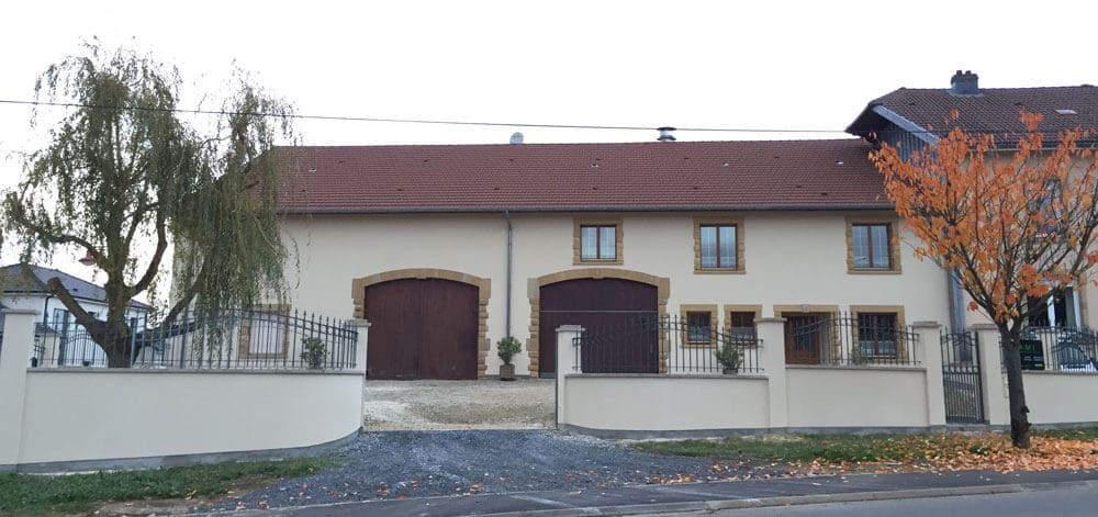Ravalement de façades Grange en Moselle